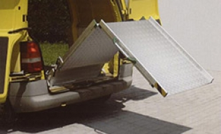 foldable ramps for fixed installation
