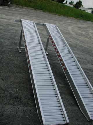 Aluminium Auffahrschienen S150/40