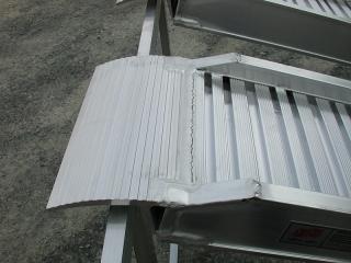 Aluminium Auffahrschienen S150/35