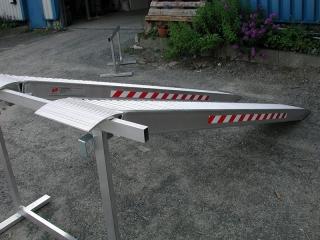 Aluminium Auffahrschienen S140/45
