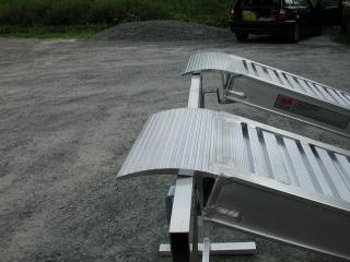 Aluminium Auffahrschienen S140/25