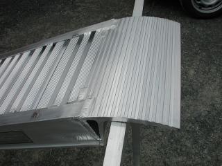 Aluminium Auffahrschienen S140/50