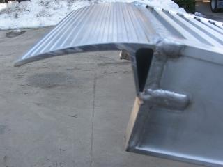 Aluminium Auffahrschienen S160/45