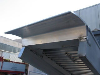 Aluminium Auffahrschienen S160/25